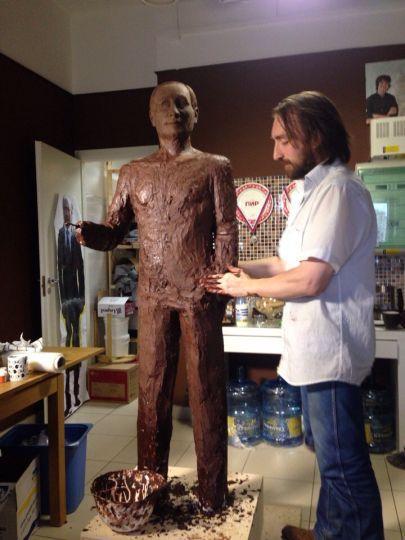 Шоколадный Путин 2