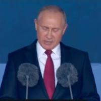 Путин открытие ЧМ 2018